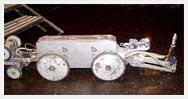 Robot kanalizacyjny ProKasro z głowicą do wiercenia